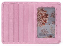 Euro Slide Lilac Credit Card Wallet by hobo the original