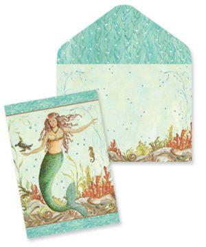 Boxed Notes - Mermaid Hideaway