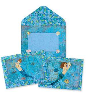 Boxed Notes - Mermaid