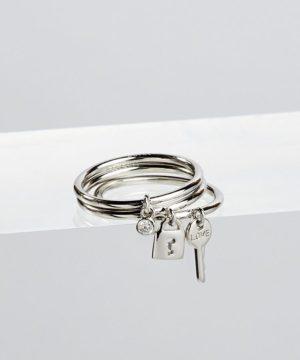 Charmed Ring (3) Set