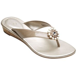 Gwen stone sandals with stone sole and stone strap with gold and white snap in center switch flops by lindsay phillips