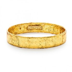 22K Gold Leaf Bangle