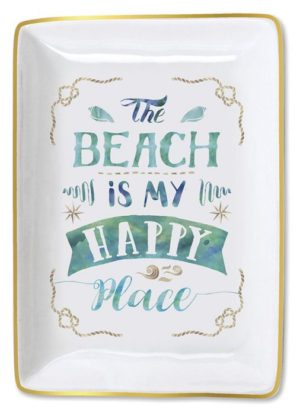Trinket Tray - The Beach is My Happy Place
