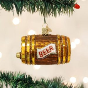 Beer Keg Ornament