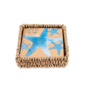 LETS BEACH NAPKIN HOLDER SET