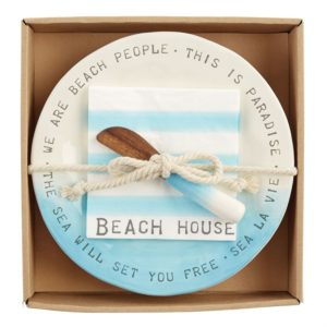 mud pie BEACH HOUSE CHEESE SET