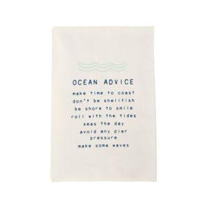 Mud Pie Ocean Advice Towel