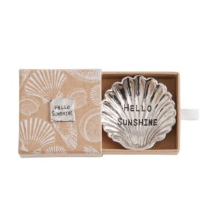 Hello Sunshine Metal Starfish Mini Trinket Dish