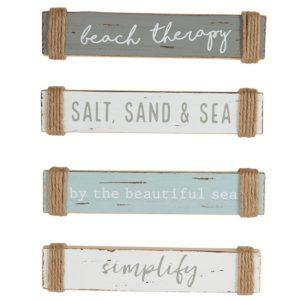 Mud Pie Small Sea Sentiment Sticks