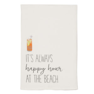 It's Always Happy Hour At The Beach Towel
