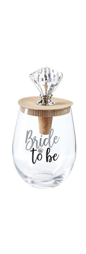 Mud Pie Wedding Bling Wine Glass Topper Sets