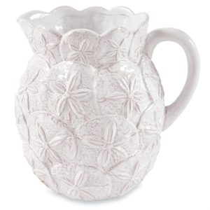 Mud Pie Sand Dollar Pitcher