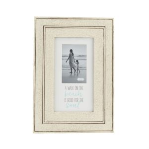 Mud Pie Good For The Soul Wood Beach Picture Frame