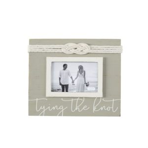 Mud Pie Tying The Knot Nautical Knot Picture Frame