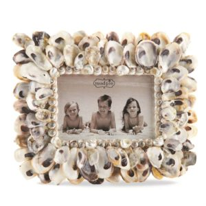 Mud Pie Oyster Shell 4x6 Frame