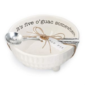 Mud Pie Circa Guacamole Dip Cup Set