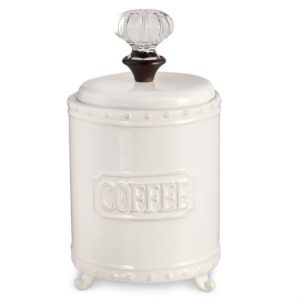 Mud Pie Circa Door Knob Coffee Canister