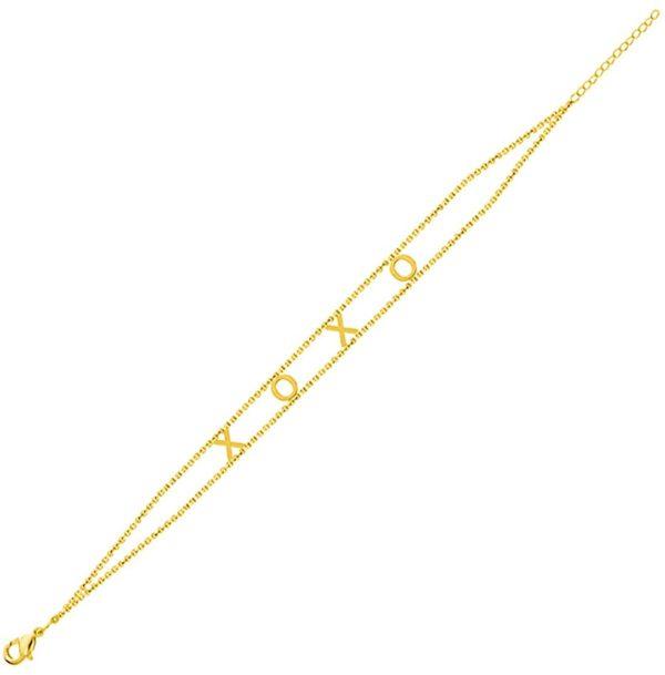 XOXO EMPOWERED BRACELET GOLD