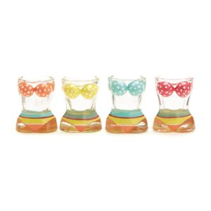 S/4 BIKINI SHOT GLASSES IN GIFT BOX