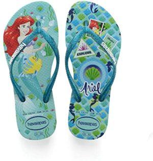 Little Mermaid Flip Flops Ariel