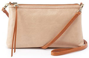 leather Darcy Parchment Crossbody by hobo the original