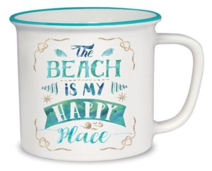 Cottage Mug - The Beach is My Happy Place
