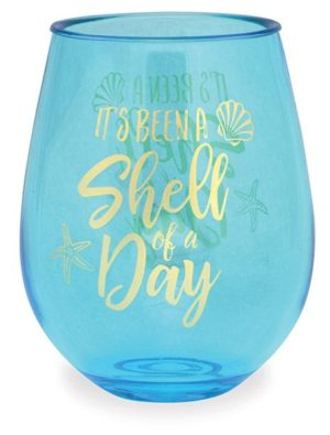 Wine Tumbler - It's Been a Shell of a Day