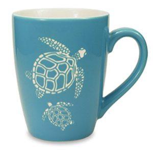 Etched Mug - Turtle