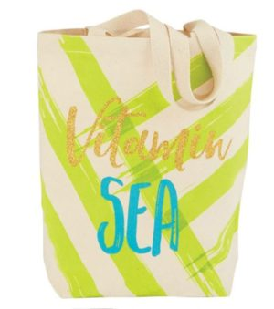 Green 'Vitamin Sea' Tote