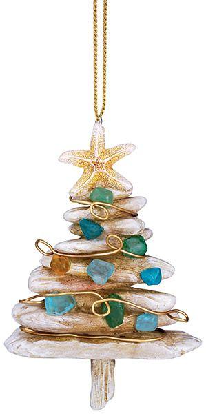 Resin Ornament - Driftwood Christmas Tree