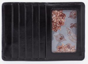 Euro Slide Black Credit Card Wallet