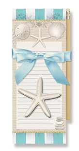 Magnetic Pad Gift Set - Beach House