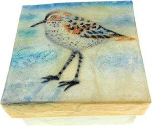 KUBLA CRAFTS sandpiper capriz box