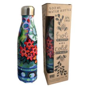 Flower Blast Water Bottle