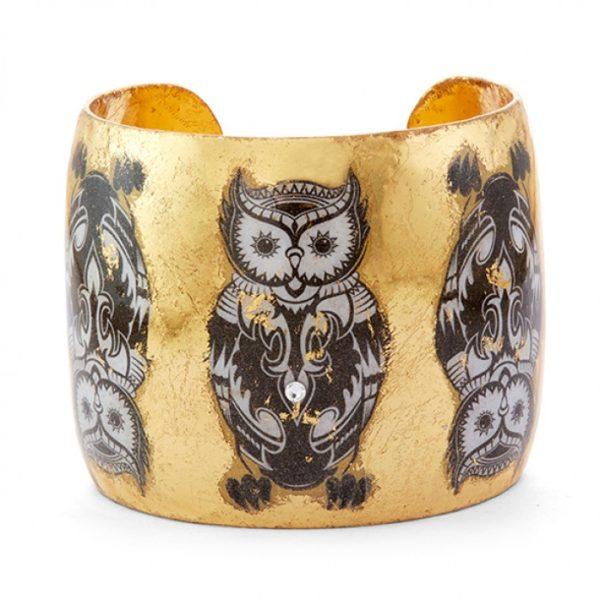 Inuit Owl Cuff