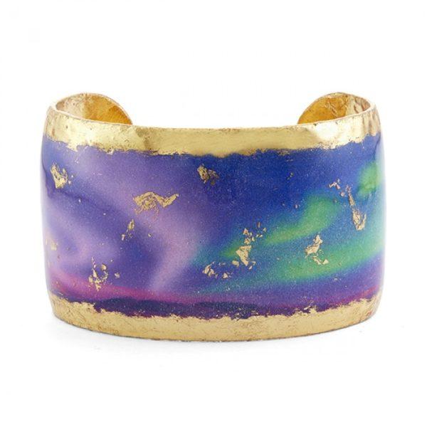 """Aurora Borealis Cuff - 1.5"""""""