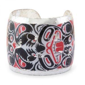 Inuit Tribal Art Cuff