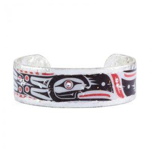 Inuit Tribal Art Cuff - Skinny