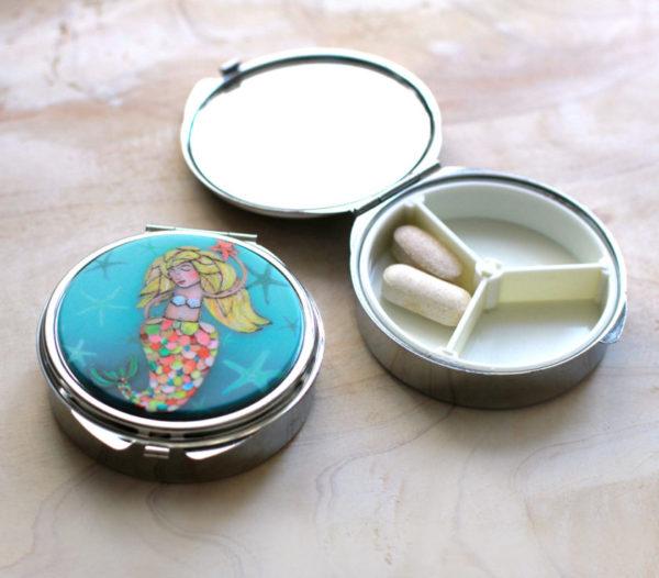 Mermaid Trinket/Pill Box