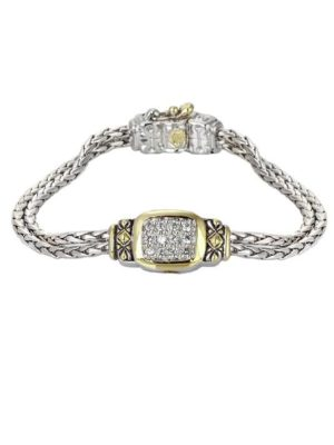 "6.5"" Nouveau Double Strand Oval Bracelet by John Medeiros Jewelry Collections **Extender Available** Handmade in USA"