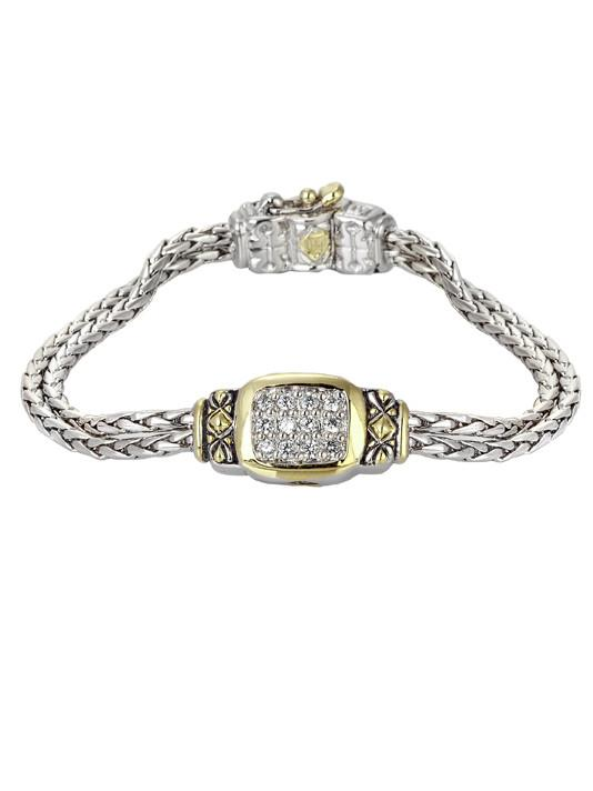 """6.5"""" Nouveau Double Strand Oval Bracelet by John Medeiros Jewelry Collections **Extender Available** Handmade in USA"""