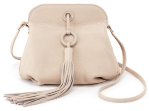 leather Birdy Crossbody Oyster by hobo the original