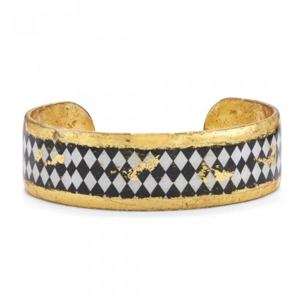 Harlequin Black & White Cuff
