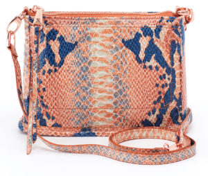 leather Cadence Adobe Snake Crossbody by hobo the original