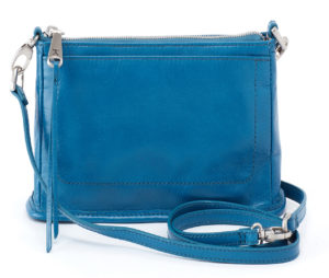 leather Cadence bayou Crossbody by hobo the original