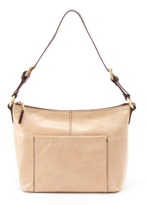 leather Charlie Parchment Tote by hobo the original
