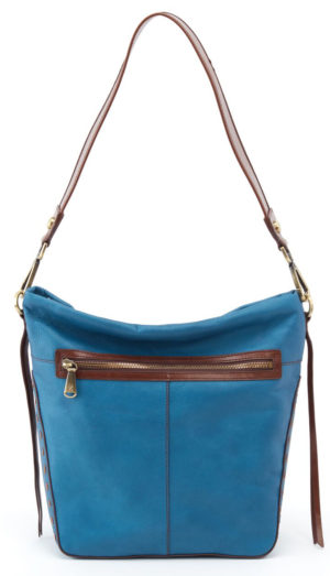 leather Canyon Handbag Matte Bayou by hobo the original