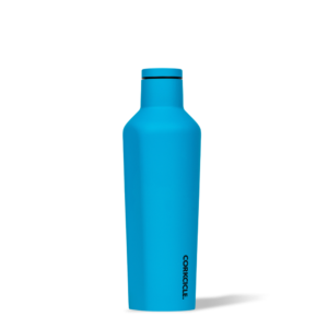 Corkcice Neon Lights Blue 16oz Canteen