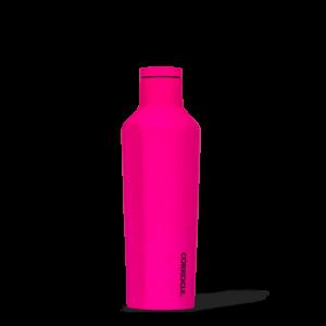Corkcice Neon Lights pink 16oz Canteen