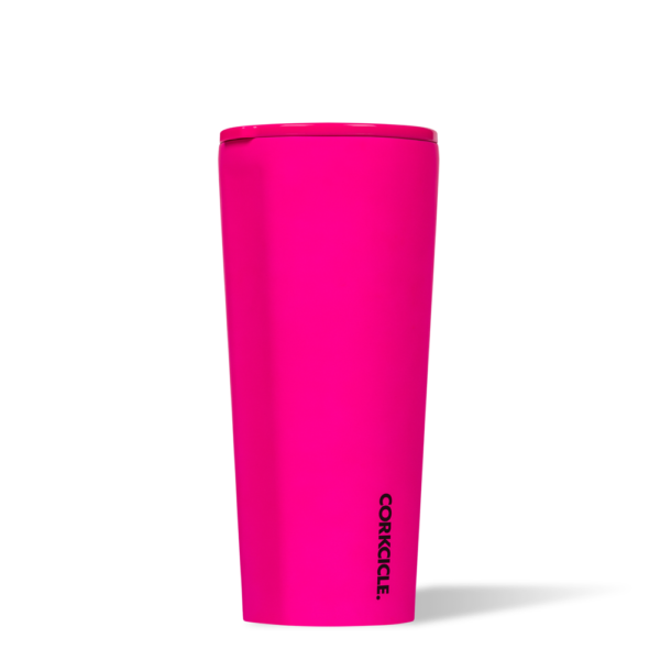 Neon Lights pink 24 oz Tumbler corkcicle